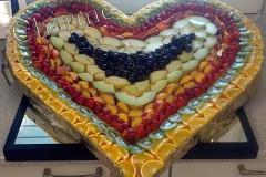 Obst-Herz-Seite